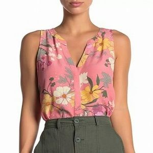 Sanctuary Craft Shell Top in Garden Girl Floral